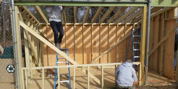 East Hanover Ballfield Dugouts Construction | DeFazio Construction
