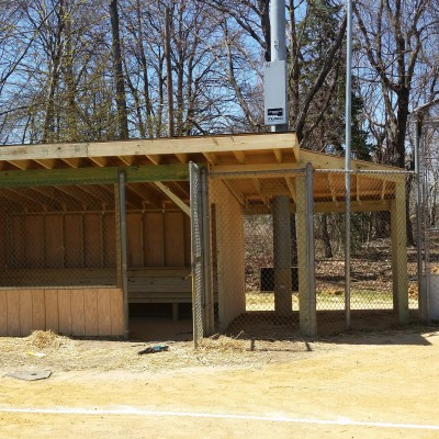 East Hanover Ballfield Dugouts Construction | DeFazio Construction
