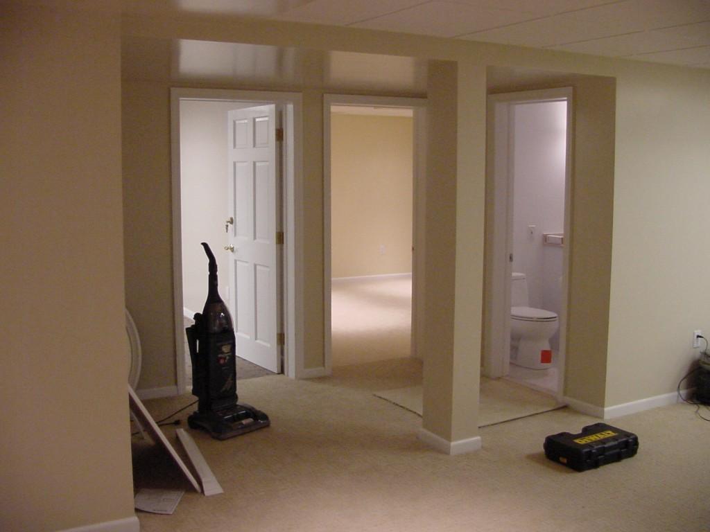 NJ Basement Office Renovation | DeFazio Construction